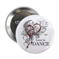"Love to Dance 2.25"" Button"