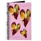 Rose Hearts Journal