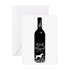 Vizsla Vineyards Greeting Card