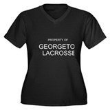 Georgetown Lacrosse Jacket Women's Plus Size V-Nec