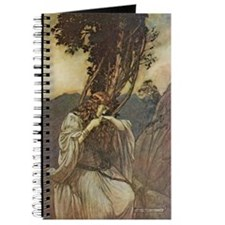 Arthur Rackham Brunhilde Journal