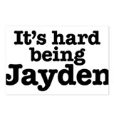 It's hard being Jayden Postcards (Package of 8)