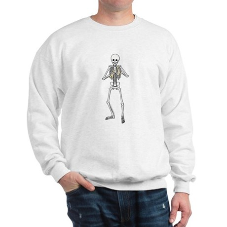 Skeleton Bone Player Sweatshirt