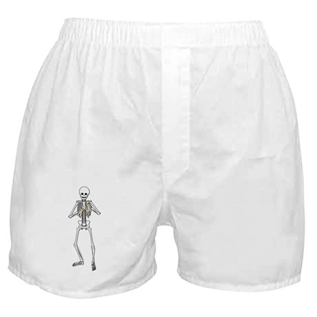 Skeleton Bone Player Boxer Shorts