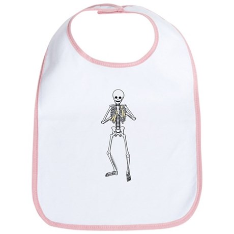Skeleton Bone Player Bib