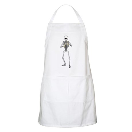Skeleton Bone Player Apron