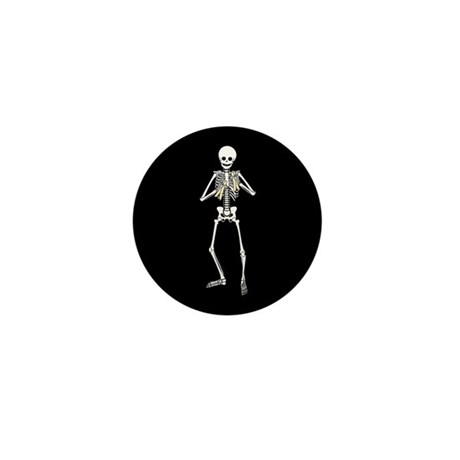 Skeleton Bone Player Mini Button (10 pack)