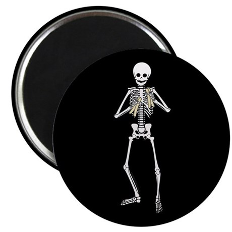 Skeleton Bone Player Magnet