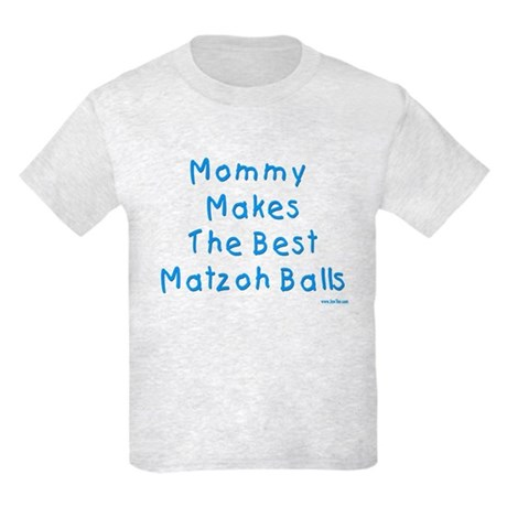Matzah Balls Passover Kids Light T-Shirt