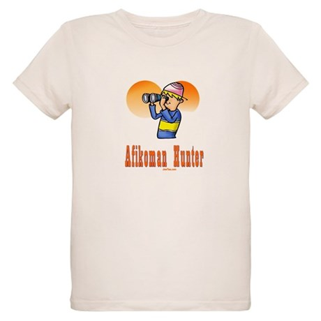 Afikoman Hunter Passover Organic Kids T-Shirt
