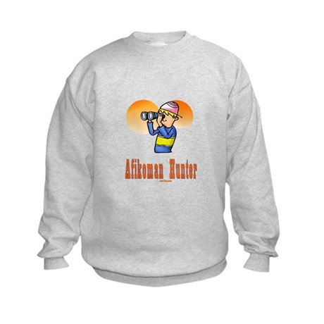 Afikoman Hunter Passover Kids Sweatshirt