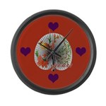 Fan of Yours Large Wall Clock