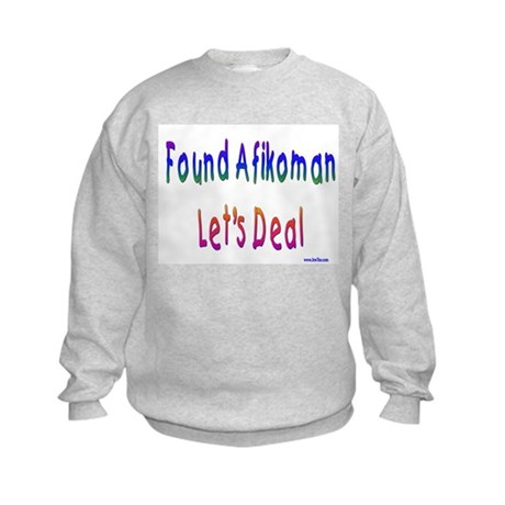 Found Afikoman Passover Kids Sweatshirt