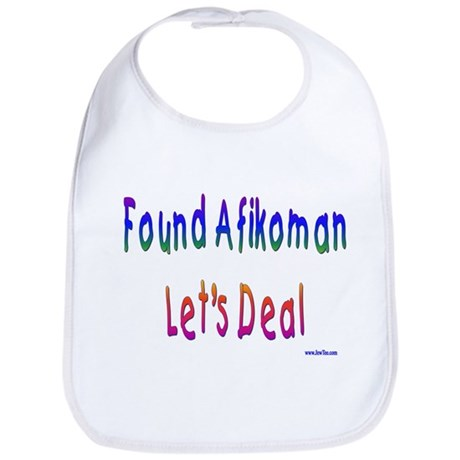 Found Afikoman Passover Bib