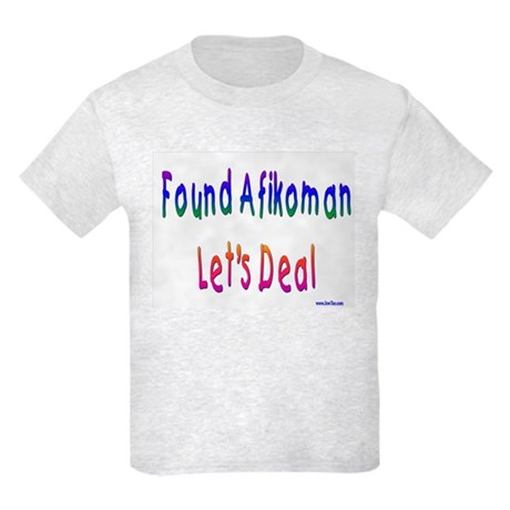 Found Afikoman Passover Kids Light T-Shirt