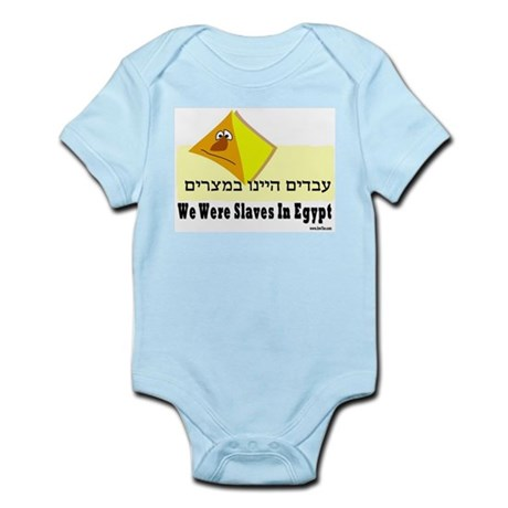 We Were Slaves Passover Infant Bodysuit