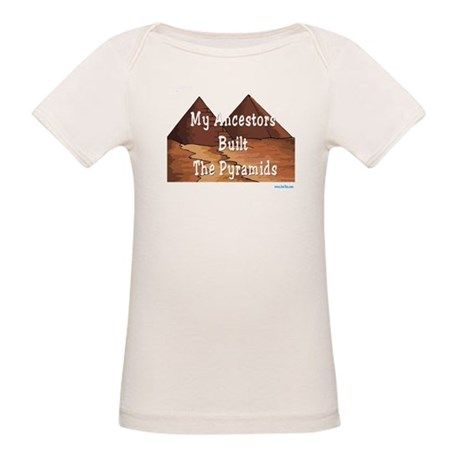Ancestors Pyramids Passover Organic Baby T-Shirt