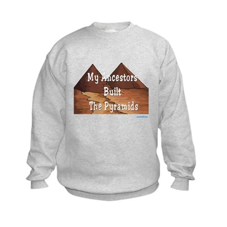Ancestors Pyramids Passover Kids Sweatshirt