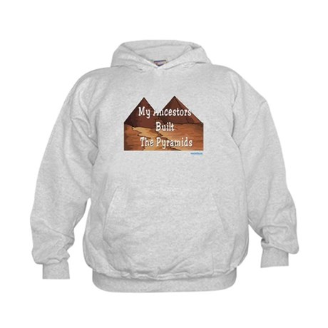 Ancestors Pyramids Passover Kids Hoodie