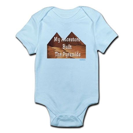 Ancestors Pyramids Passover Infant Bodysuit