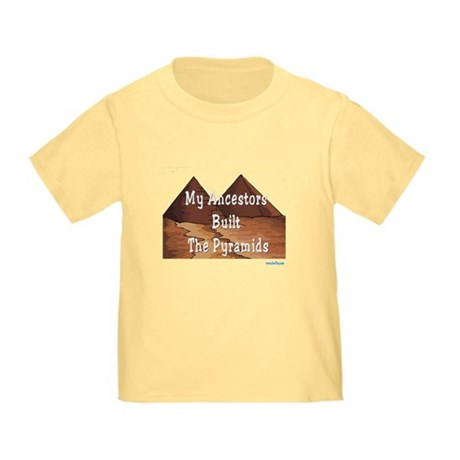 Ancestors Pyramids Passover Toddler T-Shirt