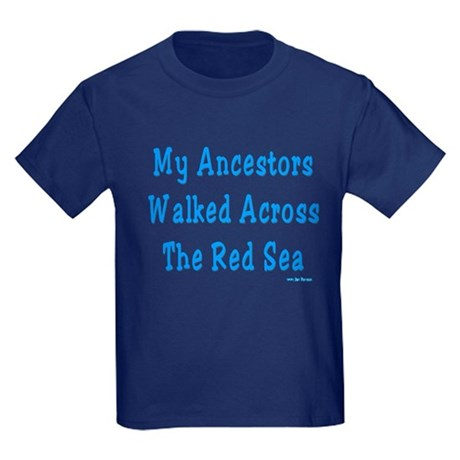 Red Sea Passover Kids Dark T-Shirt