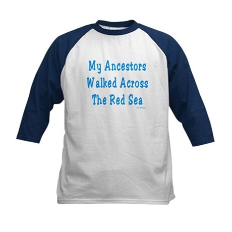 Red Sea Passover Kids Baseball Jersey