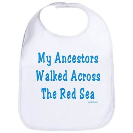 Red Sea Passover Bib