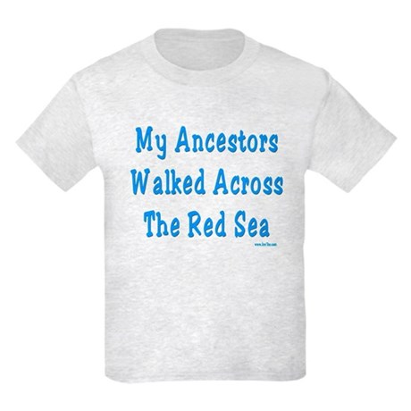Red Sea Passover Kids Light T-Shirt