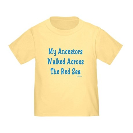 Red Sea Passover Toddler T-Shirt