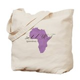 Amharic Grandma (lavender) Tote Bag