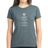 Keep Calm and Carry Yarn Women's T-Shirt