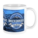 Breckenridge Blue Small Mugs