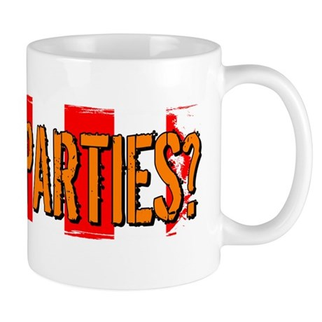 Got Tea Parties? Distressed Mug