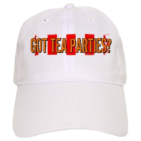 Got Tea Parties? Distressed Cap