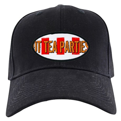 Got Tea Parties? Distressed Black Cap