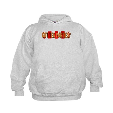 Got Tea Parties? Distressed Kids Hoodie
