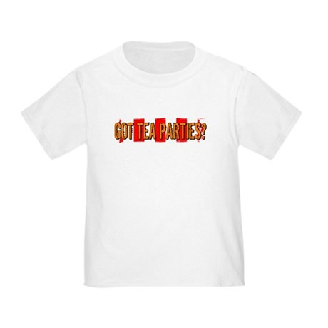 Got Tea Parties? Distressed Toddler T-Shirt