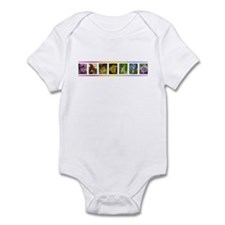Wildflower Rainbow Infant Bodysuit