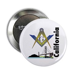 California Freemasons 2.25&quot; Button