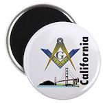 California Freemasons Magnet