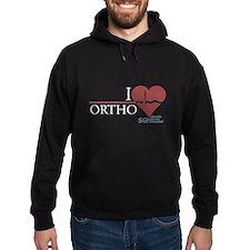I Heart Ortho - Grey's Anatomy Hoodie (dark)