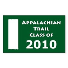Appalachian Trail Class Of 2010 Decal