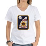 Rankin County Sheriff Women's V-Neck T-Shirt