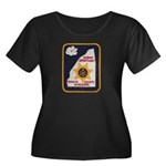 Rankin County Sheriff Women's Plus Size Scoop Neck