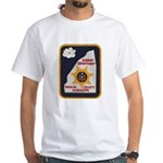 Rankin County Sheriff White T-Shirt