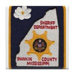 Rankin County Sheriff Tile Coaster