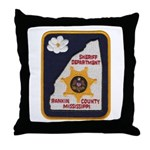 Rankin County Sheriff Throw Pillow