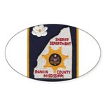 Rankin County Sheriff Oval Sticker (10 pk)