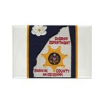 Rankin County Sheriff Rectangle Magnet (100 pack)
